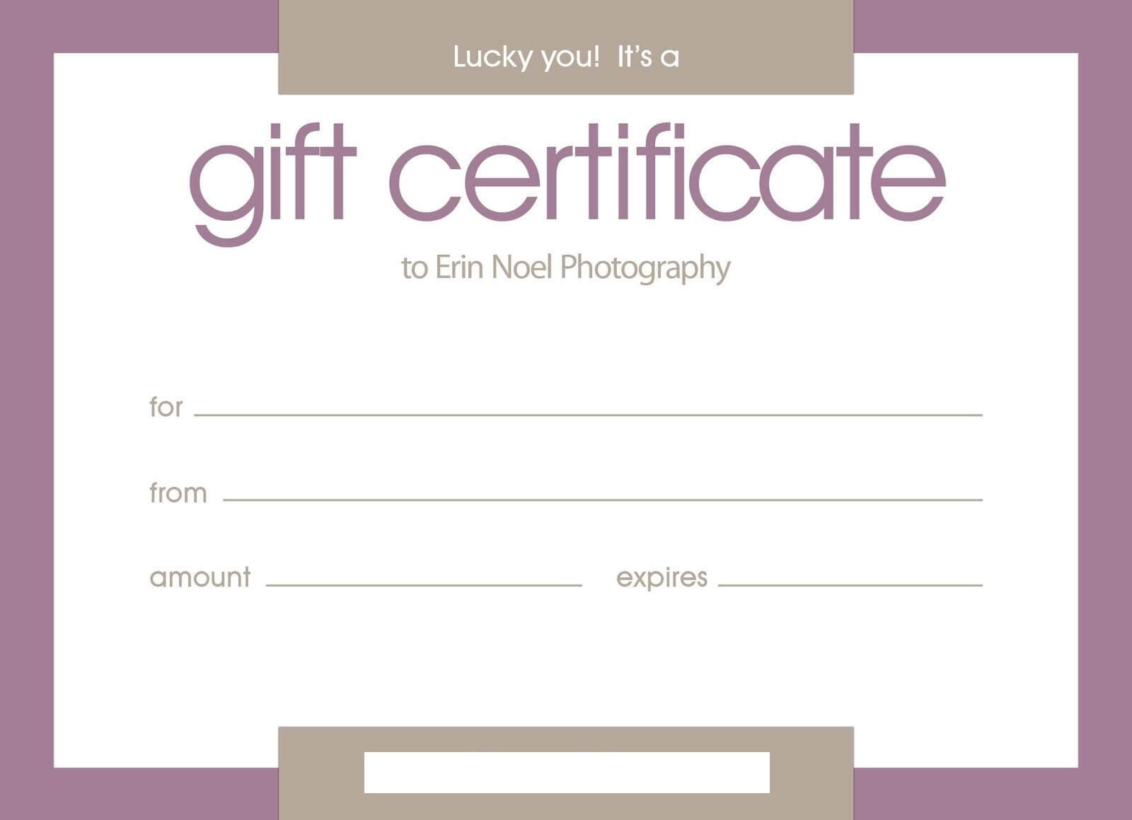 Certificates: Stylish Free Customizable Gift Certificate Throughout Publisher Gift Certificate Template