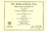 Certificates. Terrific Service Dog Certificate Template throughout Service Dog Certificate Template