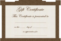 Certificates: Wonderful Tattoo Gift Certificate Template inside Tattoo Gift Certificate Template