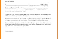 Certification Renewal Letter Authorization Collect intended for Certificate Of Authorization Template