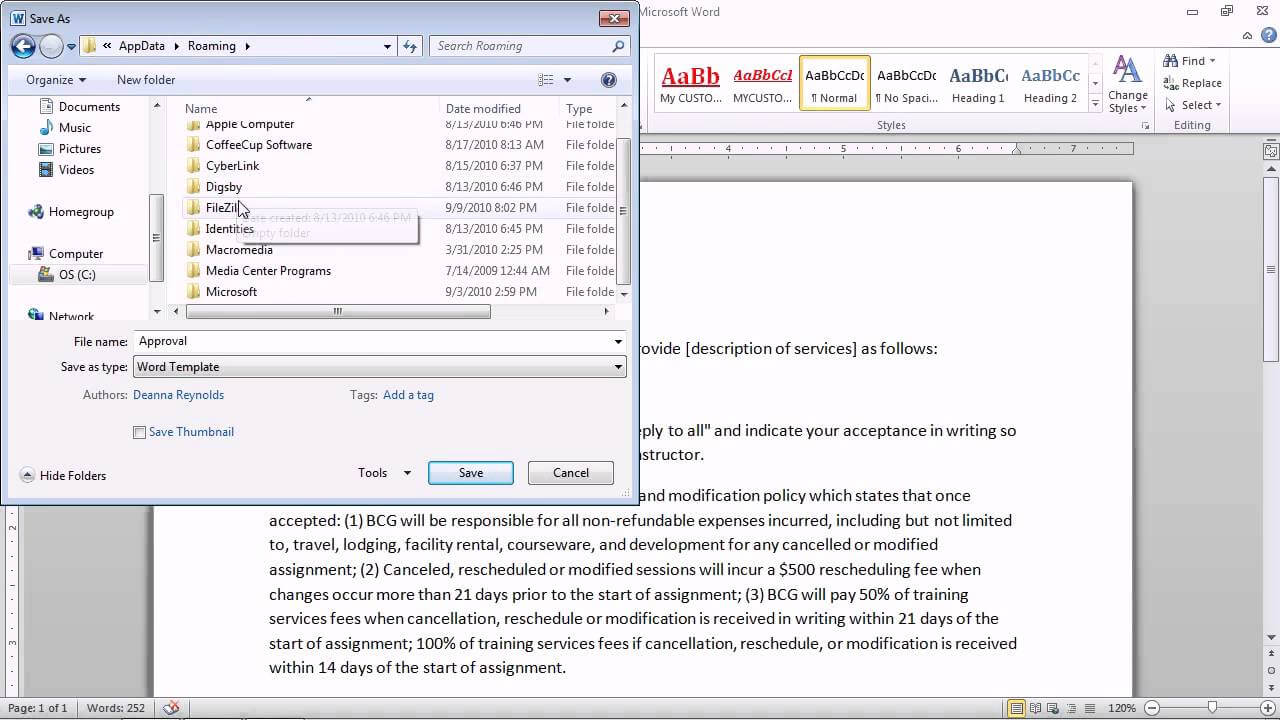 Change The Normal Template In Word 2010 - Atlantaauctionco throughout Change The Normal Template In Word 2010
