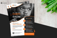 Charity Flyer Vol. 01 with regard to Ngo Brochure Templates