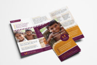 Charity Tri-Fold Brochure Template – Psd, Ai & Vector with Welcome Brochure Template