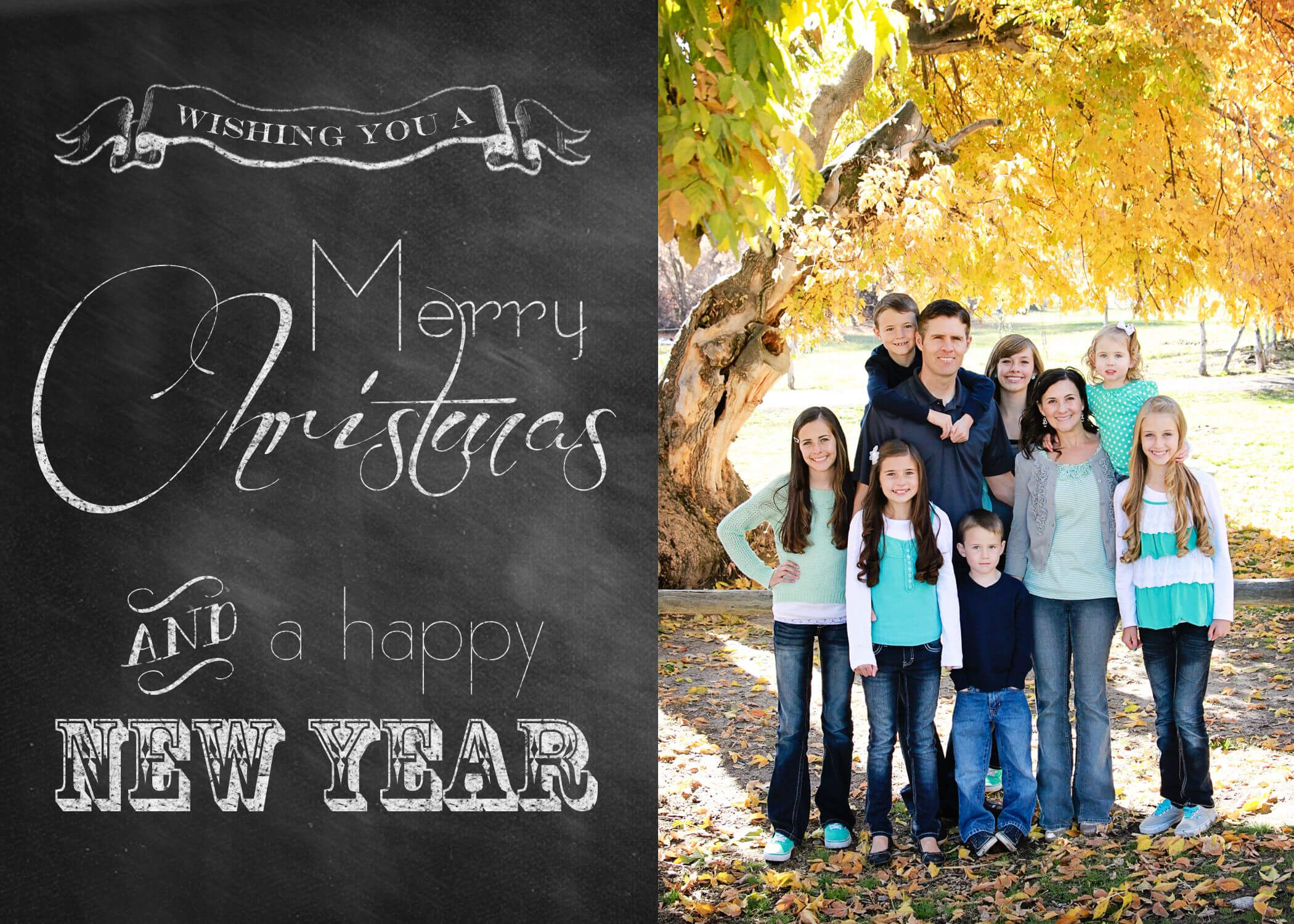 Chelsea Peterson Photography: Free Christmas Card Templates For Free Christmas Card Templates For Photographers