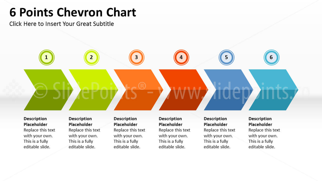 Chevron Processes Powerpoint with regard to Powerpoint Chevron Template