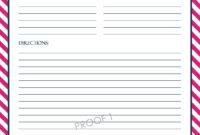 Chevron Recipe Sheet Editable   School Binder Wallpaper regarding Full Page Recipe Template For Word