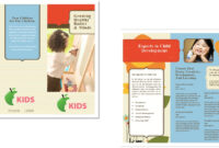 Child Care Brochure Template 6 inside Daycare Brochure Template