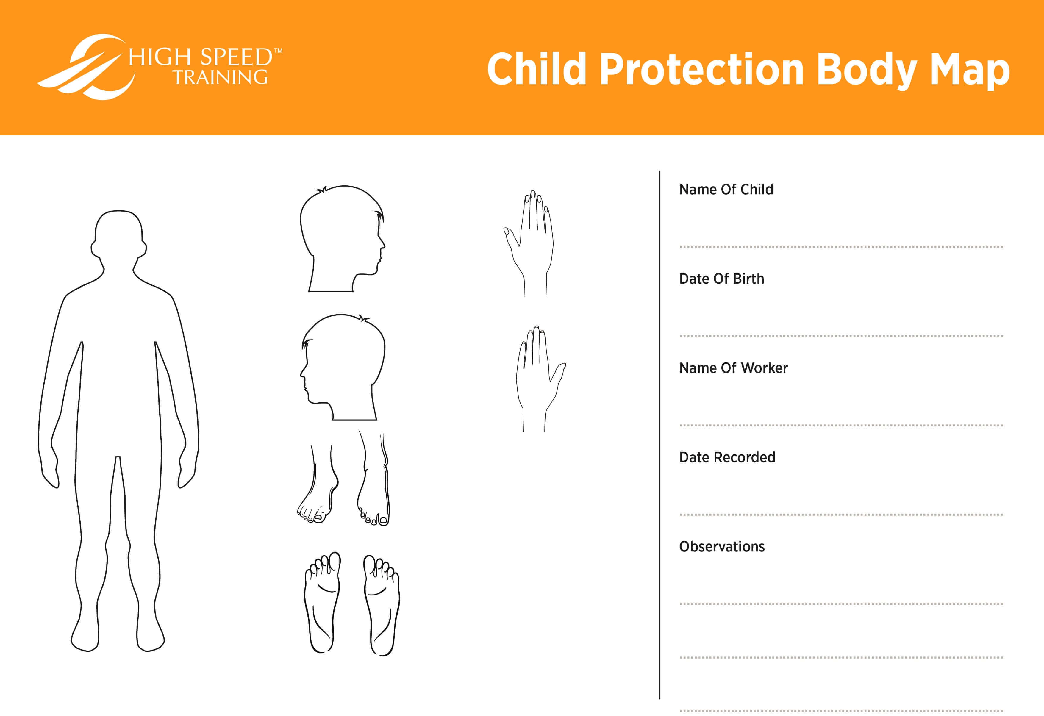 Child Protection Body Map Template | Safeguarding Advice intended for Blank Body Map Template