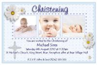 Christening Invitation Cards : Christening Invitation Cards pertaining to Baptism Invitation Card Template