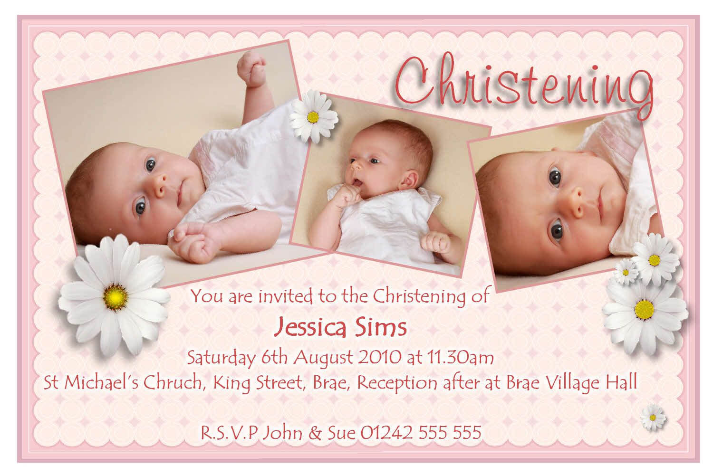 Christening Templates Free. Baptism Invitations Baptisms And Intended For Baptism Invitation Card Template