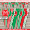 Christmas Banner Template – Red & Green For Diy Banner Template Free