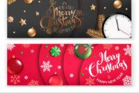 Christmas Banners Template Merry Christmas And for Merry Christmas Banner Template