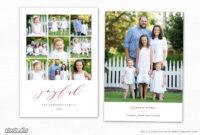 Christmas Card Template For Photographers Cc241 in Holiday Card Templates For Photographers