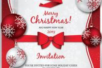 Christmas Invitation Template V4Thats Design Store On with Free Christmas Invitation Templates For Word