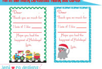 Christmas Thank You Poems To Students – Google Search throughout Christmas Thank You Card Templates Free