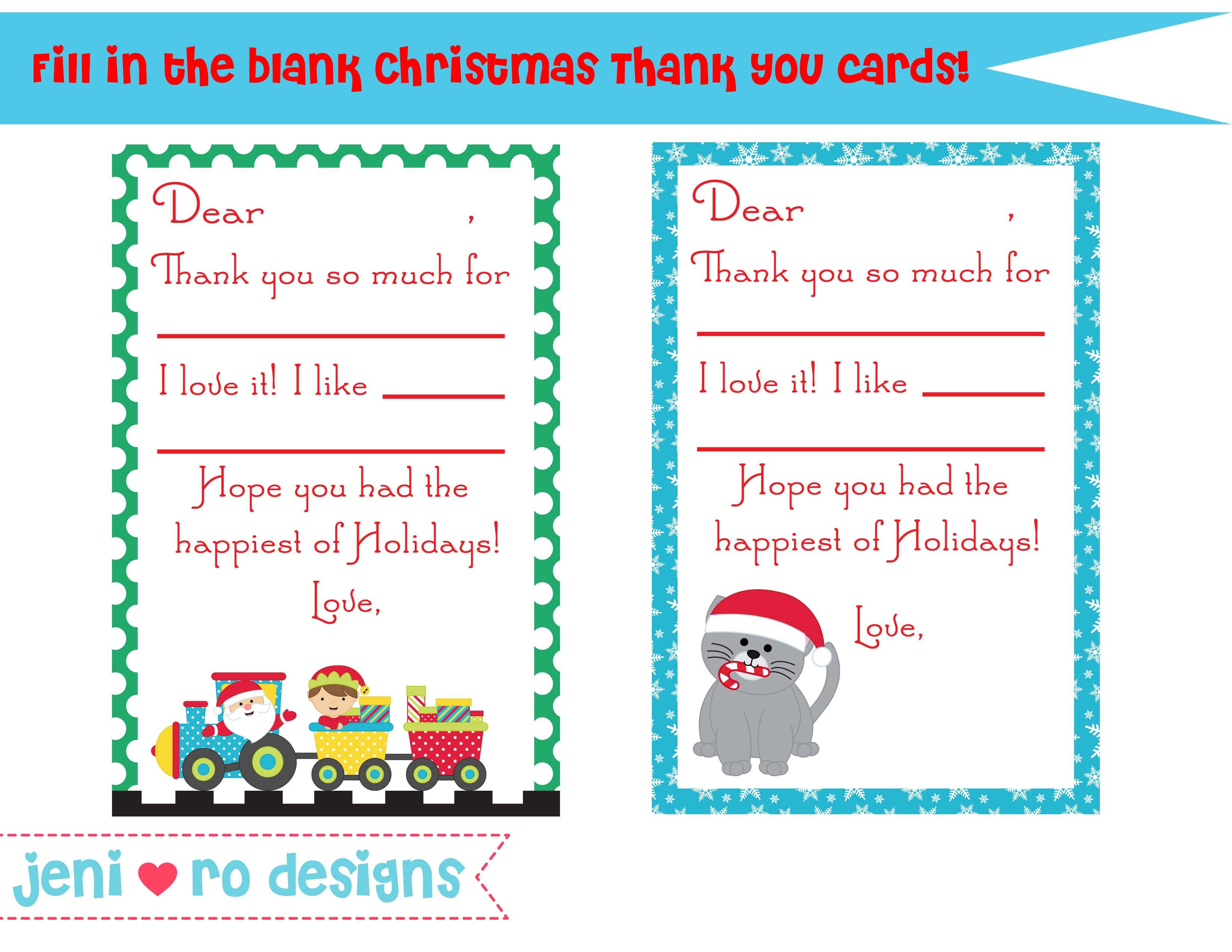 Christmas Thank You Poems To Students - Google Search throughout Christmas Thank You Card Templates Free