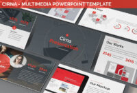 Cirna – Multimedia Powerpoint Template intended for Multimedia Powerpoint Templates