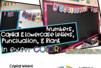 Classroom Banner- Black With Bright Colors | Classrooms within Classroom Banner Template