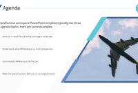 Clean Airplane Premium Powerpoint Template – Slidestore for Air Force Powerpoint Template