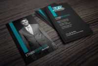 Clean, Dark Exit Realty Business Card Design For Realtors regarding Coldwell Banker Business Card Template