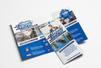 Cleaning Service Trifold Brochure Template In Psd, Ai Inside within Commercial Cleaning Brochure Templates