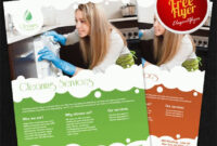 Cleaning Services – Free Flyer Psd Template inside Cleaning Brochure Templates Free