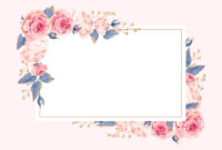 Climbing Roses – Rsvp Card Template (Free In 2019 | Greeting with regard to Free Printable Blank Greeting Card Templates