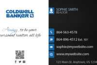 Coldwell Banker Business Cards 23 | Coldwell Banker Business for Coldwell Banker Business Card Template