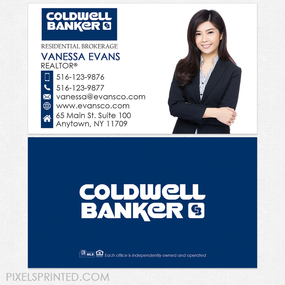 Coldwell Banker Business Cards | Business Cards In 2019 Inside Coldwell Banker Business Card Template