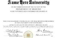 College Diploma Template Pdf | Vision Board Quotes | College with College Graduation Certificate Template