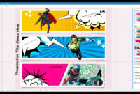 Comic Strip Template throughout Comic Powerpoint Template