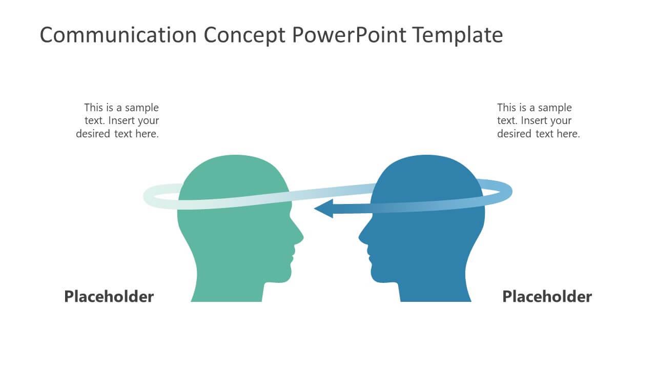 Communication Concept Powerpoint Template regarding Powerpoint Templates For Communication Presentation