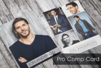 Comp Card For Models And Actors Made Easy Sedcard24 Com Free with Model Comp Card Template Free