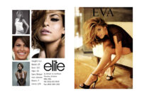 Comp Card Template   Template Business Intended For Zed Card for Zed Card Template