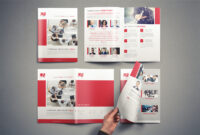Company Brochure Template Vol.1 On Student Show within Student Brochure Template