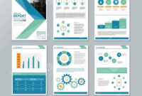 Company Profile Annual Report Brochure Flyer Page Layout For pertaining to Annual Report Word Template