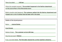 Completing An Accident Report Form Nys Dmv Mv Motor Vehicle within Accident Report Form Template Uk