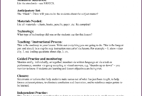 Complex Madeline Hunter Lesson Plan Explanation Madeline With Regard To Madeline Hunter Lesson Plan Template Word
