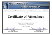 Conference Certificate Of Participation Template | Radiofixer.tk regarding Conference Certificate Of Attendance Template