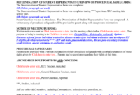 Conference Summary Template P – 6Th Grades with Conference Summary Report Template