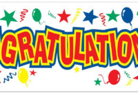 Congratulations Pictures Free Download Banner Design with regard to Congratulations Banner Template