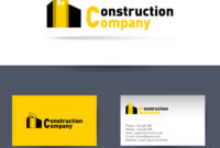 Construction Company Business Card Template inside Construction Business Card Templates Download Free