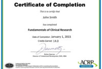 Continuing Education Certificate Template Reeviewer.co 18+ Regarding Continuing Education Certificate Template
