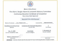 Continuing Education Certificates Templates – Best Education with Ceu Certificate Template