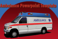 Cool Ambulance Powerpoint Template With Animation in Ambulance Powerpoint Template