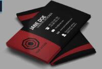 Cool Creative Business Card + Psd – Photoshop Tutorial within Business Card Template Photoshop Cs6