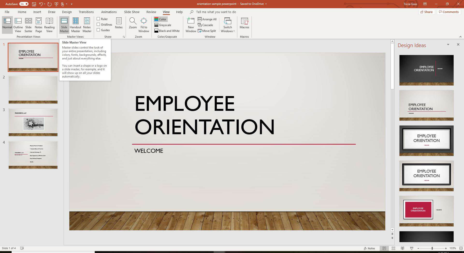 Copy A Powerpoint Slide Master To Another Presentation inside Powerpoint Replace Template