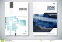 Corporate Annual Report Template Design. Corporate Business in Illustrator Report Templates