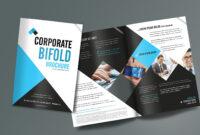 Corporate Bifold Brochure Design Templates – Freedownload pertaining to Creative Brochure Templates Free Download