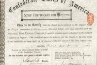 Corporate Bond Certificate Template – Atlantaauctionco in Corporate Bond Certificate Template